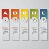 设计干净的数字横幅模板 向量 向量例证