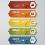 设计干净的数字横幅模板/图表或网站布局 向量 免版税库存图片