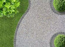 设计庭院庭院哈密尔顿新西兰 免版税库存图片