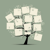 设计您结构树的愿望 库存图片