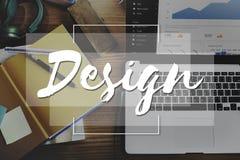 设计想法创造性想法想象力启发计划Co 库存照片
