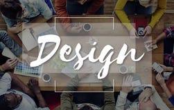 设计想法创造性想法想象力启发计划Co 免版税库存图片