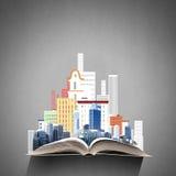 设计我的私有项目的结构上大厦概念 免版税图库摄影