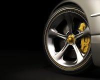 设计排除轮子 免版税库存图片