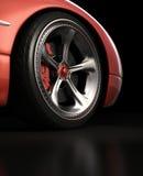 设计排除轮子 免版税库存照片