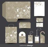 设计文教用品模板 库存照片