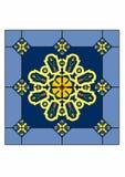 设计方形绿松石 免版税图库摄影