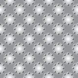 设计无缝的单色几何样式 库存图片