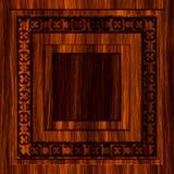 设计无缝的木头 库存照片