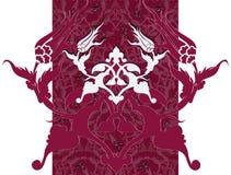 设计无背长椅传统郁金香土耳其 库存照片