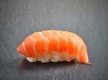 设计有用要素菜单餐馆三文鱼的寿司非常 库存图片
