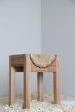 设计木椅子 库存图片