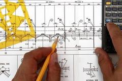 设计机械 免版税库存图片