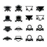 设计标签16项目 免版税库存图片