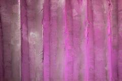 设计桃红色紫罗兰色冰纹理背景 免版税库存照片
