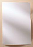 设计框架布局A4大小纸 免版税库存图片