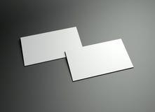 设计框架namecard 库存照片