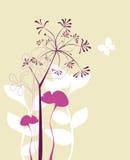 设计植物群 免版税库存照片