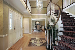 设计楼层休息室 免版税图库摄影