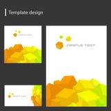 设计模板向量 免版税库存图片