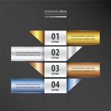设计横幅现代梯度设计 向量例证