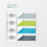介绍设计横幅4颜色 皇族释放例证