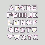 设计海报的,标题,印刷构成字体 向量例证