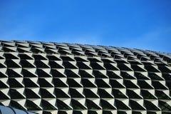 设计现代屋顶顶层 免版税库存照片