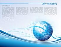 设计现代模板向量 免版税库存照片