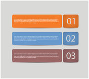 设计现代模板 免版税库存照片