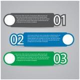 设计现代模板 免版税库存图片