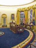 设计由纽约建筑师詹姆斯Polshek,威廉J.克林顿总统图书馆开张2004年11月17日 克林顿总统图书馆包括白宫椭圆形办公室的复制品 图库摄影