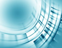 设计的抽象蓝色背景 图库摄影