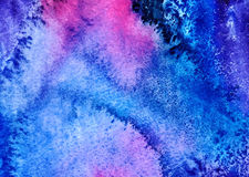 设计的抽象水彩背景 免版税库存图片