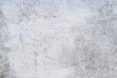 设计的老被风化的白水泥墙壁 免版税库存照片