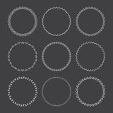 设计的花圈 免版税库存照片
