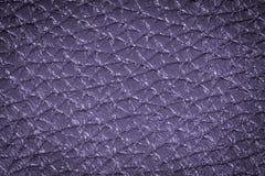 设计的紫色皮革纹理背景 库存照片