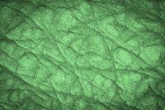 设计的绿色皮革纹理背景 库存图片