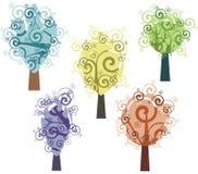 设计系列结构树 图库摄影