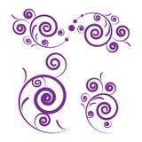 设计紫色 向量例证