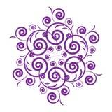 设计紫色 皇族释放例证