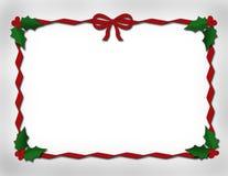 设计红色丝带 免版税库存照片