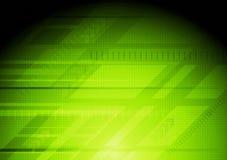 设计绿色高技术 库存图片