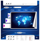 设计网站 图库摄影