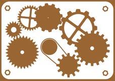 设计老要素设备 向量例证
