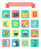 设计节假日图标例证旅行向量您 免版税库存照片