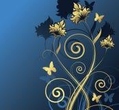设计花卉例证向量 库存照片