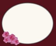 设计花卉框架婚礼 免版税图库摄影