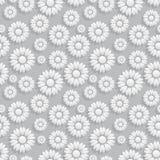 设计花卉模式无缝的向量 库存图片