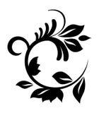 设计花卉模式 皇族释放例证
